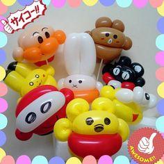 Mix Ballon Animals, Mini Balloons, Balloon Decorations, Holidays, Cute, Holidays Events, Holiday, Kawaii, Balloon Centerpieces