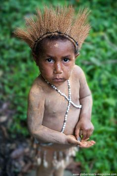 Boy in Akameku village, PAPUA NEW GUINEA