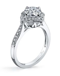 Style R3197 from The Lyria Collection by Parade Design // More from Parade Design: http://www.theknot.com/gallery/wedding-rings/Parade Design