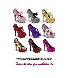 Conheça nossa loja virtual; www.esmalteimportado.com.br