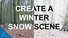 Creat a Winter Snow Scene with Photoshop: In this video I'll show you how to quickly turn a regular picture into a realistic Winter Snow Scene using Adobe Photoshop. Download the image file and pra