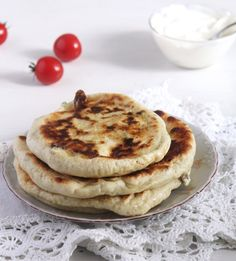 Romanian Cheese Pies - Placinta - Savory cheese pies or Romanian placinte cu branza, this is a traditional Romanian recipe for pies f - Cheese Pie Recipe, Cheese Pies, Cheese Bread, Sicilian Recipes, Greek Recipes, Pie Recipes, Recipies, Dinner Recipes, Moroccan Bread