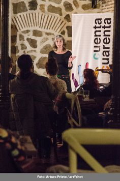 """Café con cuentos - Magda Labarga """"Hablar con extraños"""" - Domingo 22 de marzo Fotografía: Arturo Prieto / artYshot"""