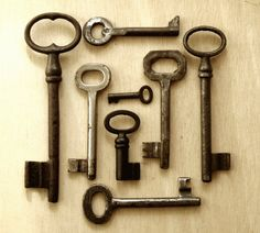 Old Keys  (in general) ; these ones are pricey.