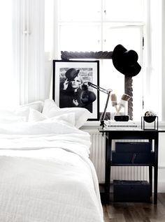 Charlie - Photoshoot for Love Warriors. Photo by Anna Kvarnström/Concept By Anna. Co-work with Maria Karlberg Airy Bedroom, Home Bedroom, Modern Bedroom, Bedroom Decor, Bedrooms, Bedroom Black, Interior Architecture, Interior And Exterior, Interior Styling