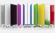"Clarus Glass Boards / Color Board Optional / 40""w x 73""h"