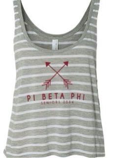 Pi Beta Phi arrows tank #piphi #pibetaphi