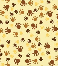 No Sew Throw-Puppy & Paw Print, , hi-res Dog Wallpaper, Iphone Background Wallpaper, Orange Background, Paper Background, Baby Scrapbook, Scrapbook Paper, Puppy Paw, Toy Packaging, Pet Boutique