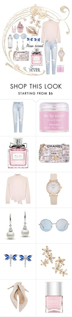 """Perfume for spring"" by k-ravasio ❤ liked on Polyvore featuring beauty, Sara Happ, Christian Dior, Chanel, Alexander McQueen, Bonheur and Nails Inc."