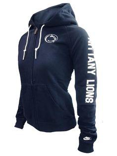 Penn State Women's Nike Rally Rewind Hood NAVY