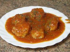 En la Cocina de Amama: Albóndigas con tomate