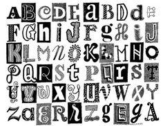 Letterpress Plate  Craft Die Set Lindsay Letters Monogram Alpha