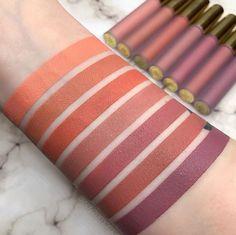 Máte radi nude farby? <3 Potom si z týchto tekutých matných rúžov Hydra Matte od Gerard Cosmetics rozhodne vyberiete 💕😘