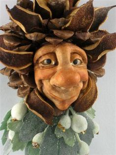 ~ Chicory ~   sculpted by Jayne Ayre of  Kismet Clay Designs www.kismetclaydesigns.blogspot.com Sold