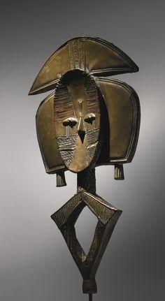 Kota Reliquary Guardian Figure, Gabon | lot | Sotheby's