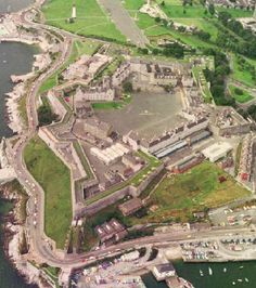 eCastles : Castles and Fortifications of England and Wales Devon Uk, Devon England, Devon And Cornwall, Plymouth England, Annual Review, Ocean City, Natural Wonders, Beautiful World, Old Photos