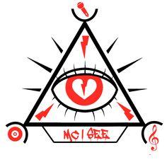 First sketch MC I see logo