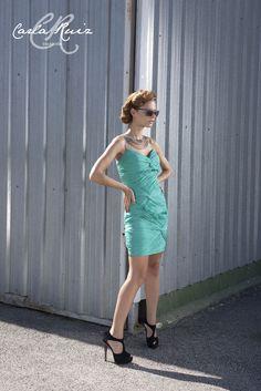 Vestido de Cocktail de Carla Ruiz 2012 - Modelo 86058