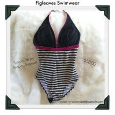Loving my @figleaves.com.com Swimwear Tuscany Stripe Shaping Swimsuit for Summer 2014!   #sponsored #MC