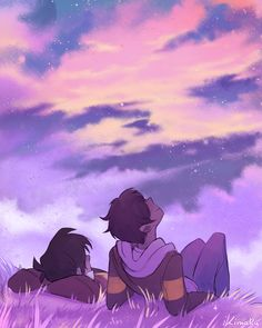 insert 'you know who else is beautiful' joke here there were some suggestions for a klance stargazing pic! *:・゚✧