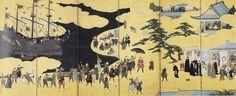 Namban byobu R - 狩野内膳 - Wikipedia