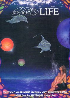 UTOPIA LIFE Rave Flyer Flyers 5/9/92 A4 Tasco Warehouse Plumstead • £4.00 - PicClick UK