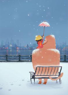 Snow View, by Joey Chou