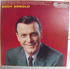 Eddy Arnold, Self-Titled Album, Vintage Record Album, Vinyl LP, American Country…