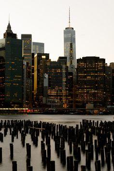 travelbinge:  Light night by Aleksandr Stzhalkovski New York, USA