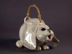 Bunny rabbit teapot