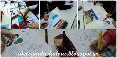 Ιδέες για δασκάλους:Χρωματιζουμε τα Ελληνάκια της Ε.Φακίνου! Playing Cards, Cover, Books, Art, Art Background, Libros, Playing Card Games, Book, Kunst