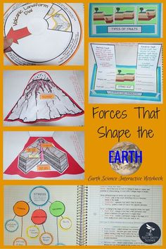 Introducing another chapter in the Earth Science Interactive Notebook Series: Forces That Shape the Earth. Each chapter in the series will showcase many activities for the students (both middle and high school) to process the information given by teachers. The engaging activities vary to enable all students to use and benefit from different learning styles. Nitty Gritty Science
