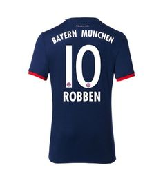 Billiga Bayern Munchen Arjen Robben 10 Bortatröja 17-18 Kortärmad Sports, Tops, Bavaria, Hs Sports, Sport