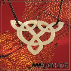 CELTIC KNOT - bone carved pendant.