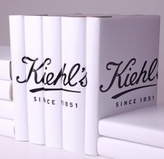 Corporate branded books - for use in visual merchandising in store fronts