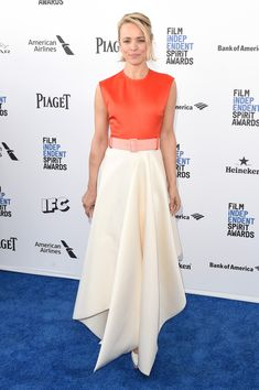 Rachel McAdams in Solace attends the 2016 Film Independent Spirit Awards. #bestdressed