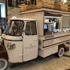"""BACIO di LATTE, """"Gelato/Ice Cream Shop"""",pinned by Ton van der Veer"""