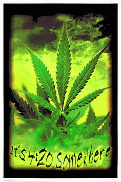 Poster Marijuana Leafs USA flag Green Woman Statue of Liberty Art Print 20