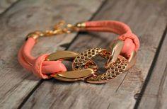 Chunky Style Spring Bracelets - 7 Colors!