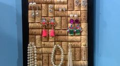 Something You Should Know: Cork Jewelry Frame