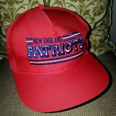 New England Patriots Snapback Hat by ResouledGypsy on Etsy