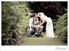 {Weddings and Wheelchairs} It HAS been done, it CAN be done, and it WILL be done - with ease and awesomeness! Here's a few ways to make it work: