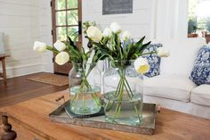 Fixer Upper: Freshening Up a 1919 Bungalow for Empty Nesters Fixer Upper, Bungalow, Old French Doors, Chip And Joanna Gaines, Joanna Gaines Blog, Joanne Gaines, Interior Decorating, Interior Design, Design Blog