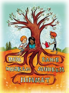 Navjot Kaur shares with us the Sikh celebration of Vaisakhi, celebrated in April. Learn about the traditions of Vaisakhi and books featuring Sikh families. Drawing For Kids, Painting For Kids, Teaching Kids, Kids Learning, Teaching Tools, Teaching Resources, Geography Lessons, New Year's Crafts, This Is A Book