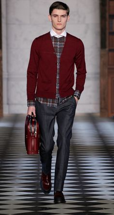 Tommy Hilfiger Men's Collection Fall/Winter 2013/14