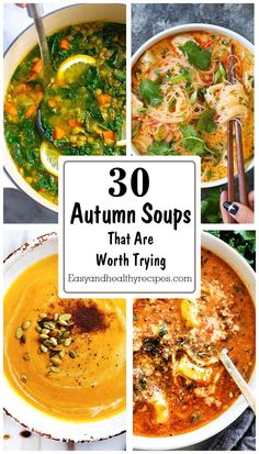 Autumn is here! Why don't you make something good and comforting to enjoy the coolness out? The breeze, scenery, and nature, all of them would be much lovelier with a glass of season soup served alongside. It will make our body warmer while satisfyin