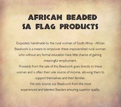 Handmade in South Africa