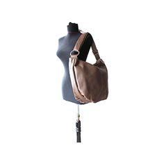 Sabrina Italian Taupe Leather Hobo Bag - £64.99 Leather Hobo Bags, Leather Shoulder Bag, Shoulder Bags, Taupe, Beige, Italian Women, Shopper Bag, Italian Leather, Soft Leather