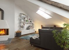 Attic Apartment on Behance