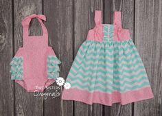 Matching Sister Outfits  Boutique Knot by TwoSistersOriginals, $63.00
